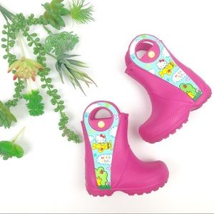 Crocs Hello Kitty Rain Boots